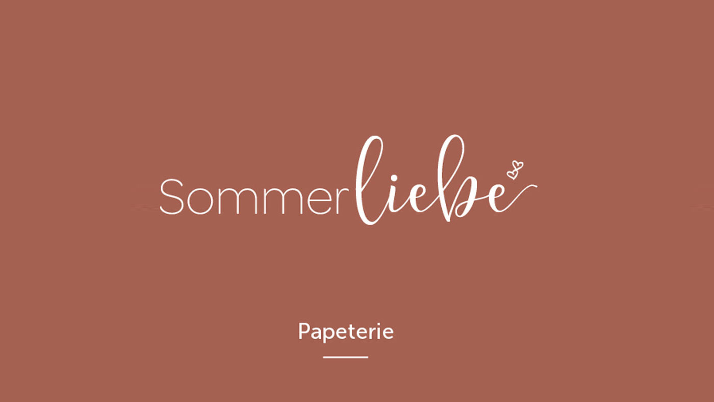 Sommerliebe Papeterie