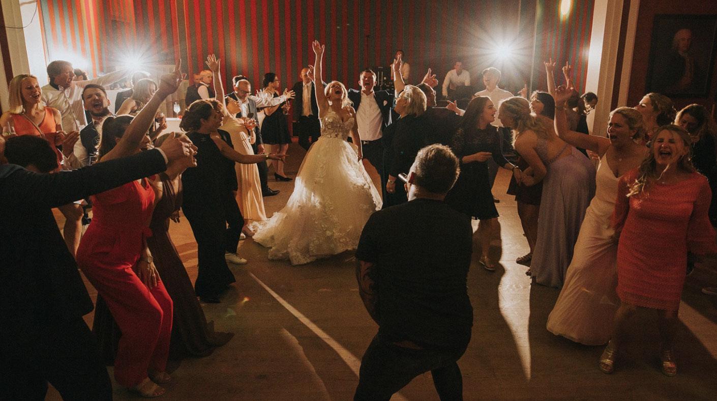 MIke Leon Grosch Wedding Family